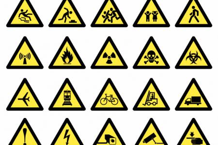 Купить знак об опасности