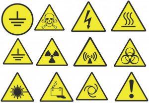 Предупреждение - знак опасности!